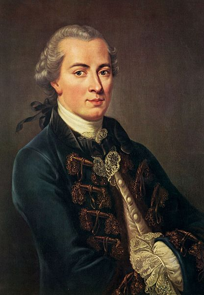 Portrait of Immanuel Kant (1724-1804)