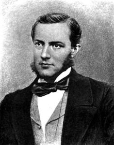 Photograph of Max Muller aged 30.