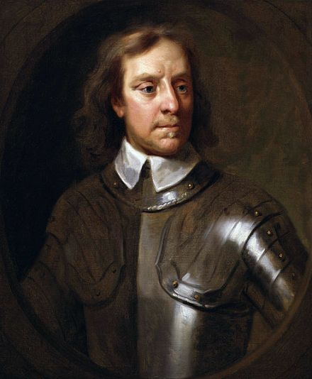 A 1656 Samuel Cooper portrait of Cromwell.