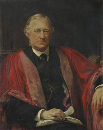 Sir John Robert Seeley (1834 - January 13, 1895) was an English essayist and historian (c) Christ's College, University of Cambridge; Supplied by The Public Catalogue Foundation