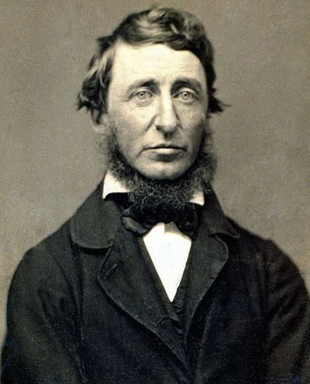 Thoreau in 1856.