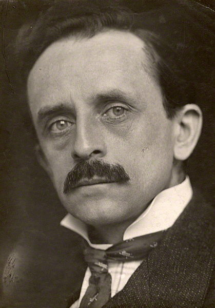 J. M. Barrie by George Charles Beresford, 1902.