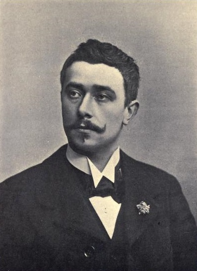 Maeterlinck, before 1905.