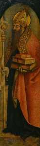 St. Augustine by Carlo Crivelli