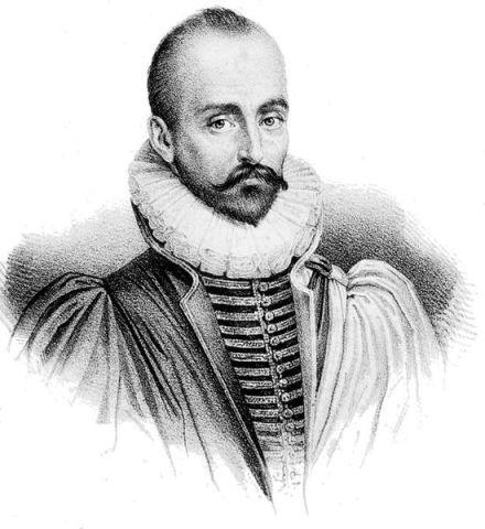 Michel Eyquem de Montaigne.