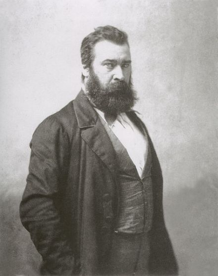 Portrait of Millet by Nadar. Date unknown.