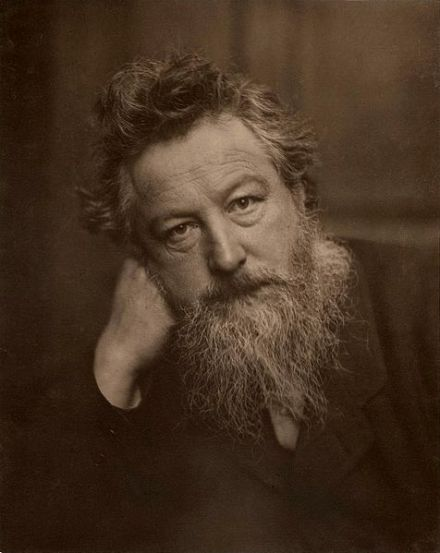 William Morris by Frederick Hollyer, 1887.