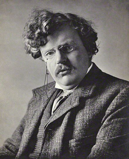 G. K. Chesterton, by E. H. Mills, 1909.