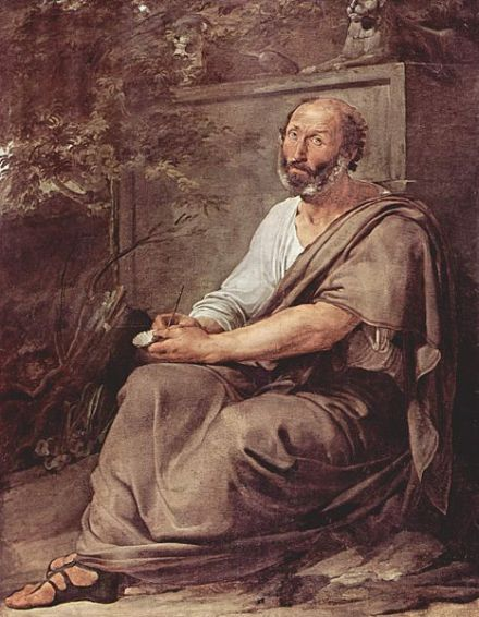 """Aristotle"" by Francesco Hayez (1791–1882)."