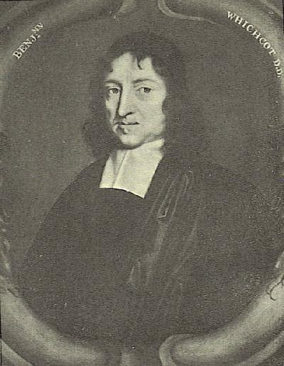 Engraving of Whichcote from the frontispiece to Select Sermons.