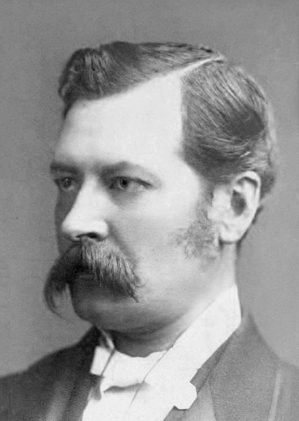 Arthur O'Shaughnessy, ca 1875.