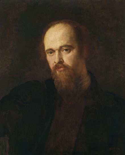 Portrait of Dante Gabriel Rossetti c. 1871, by George Frederic Watts.
