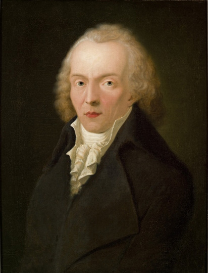 Portrait of Jean Paul by Heinrich Pfenninger (1798).