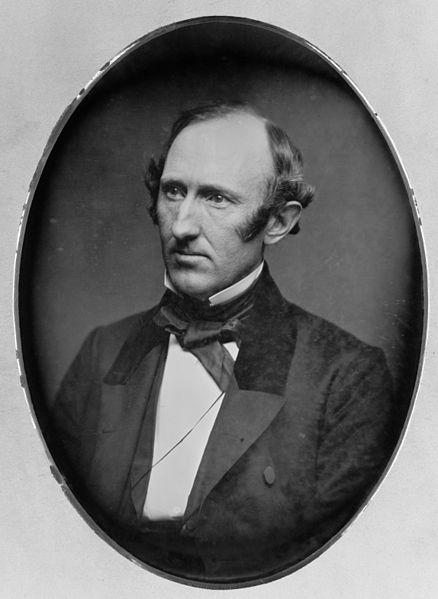 A daguerrotype by Mathew Brady of Wendell Phillips in his forties.